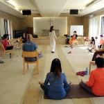 18/11/2015 於身心靈平台共修營-帶領瑜伽呼吸法