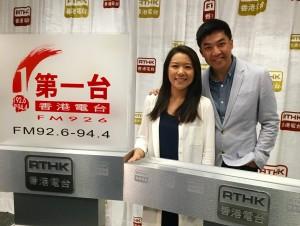 接受香港電台訪問,節目《我得你都得》,同錢佩卿&李燦榮一起講催眠及靜心